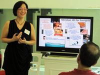 Siu Ling conducted a Meridian 101 workshop in Jakarta